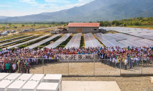 """Solar Para Sa Bayan"" brings power to 12 remote towns in the country"