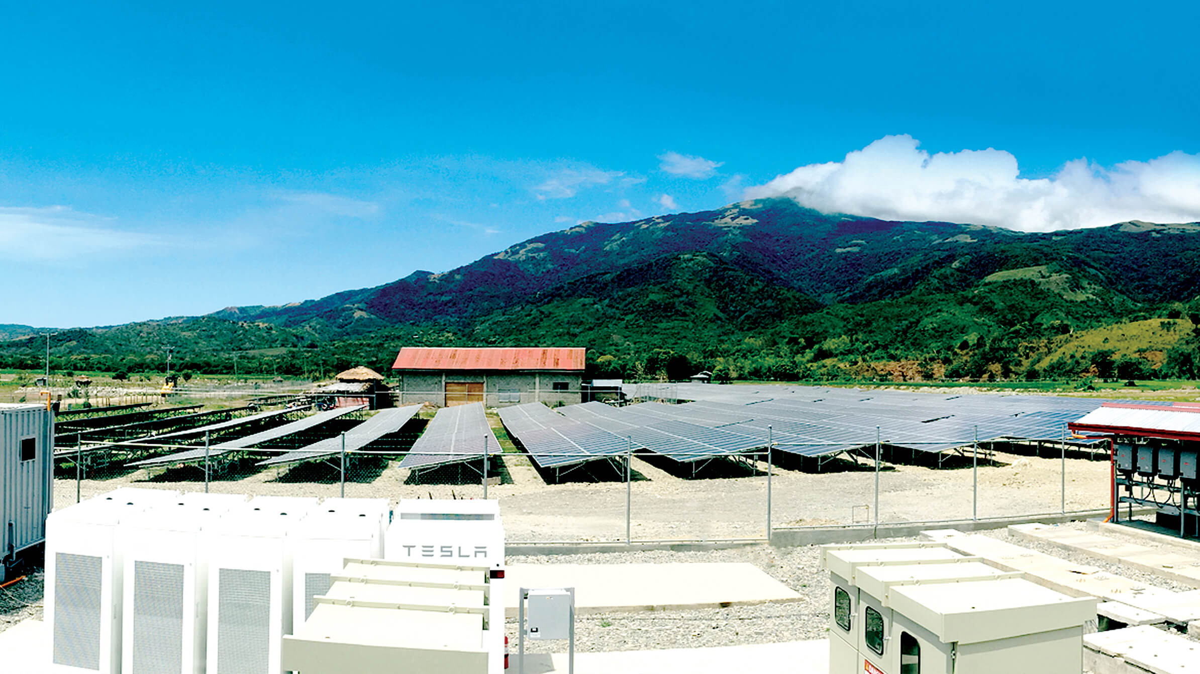 The first utility scale Solar-Battery Micro-Grid in Southeast Asia